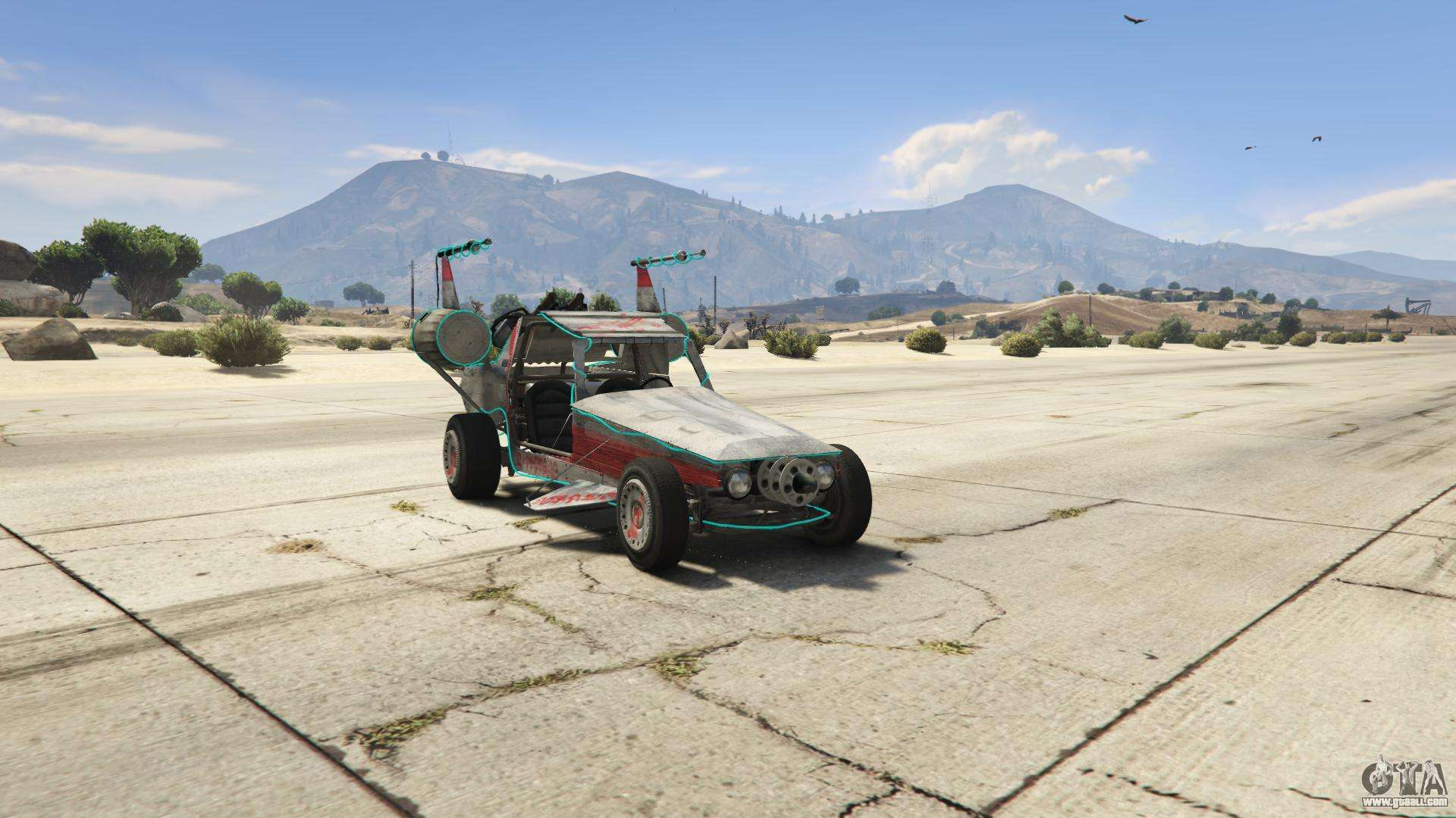 GTA 5 BF Space Docker - front view