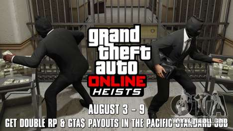 Pacific Standard heist double reward