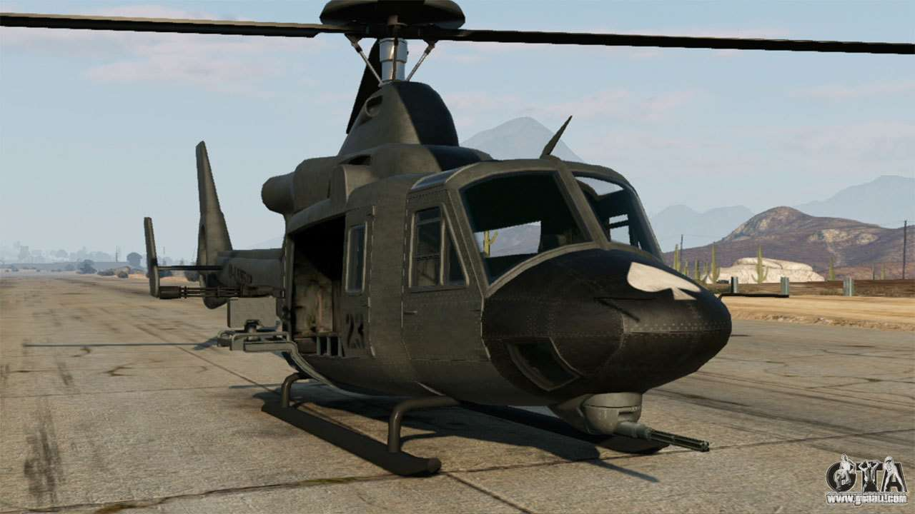 Helicopters for GTA 5 - download the best helicopter mods