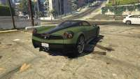 Pegassi Osiris from GTA 5 - rear view