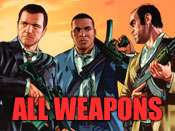 All weapons cheat for GTA 5 on PC