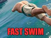 Fast swim cheat for GTA 5 on PS4