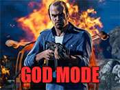 Invincibility cheat for GTA 5 on PlayStation 4