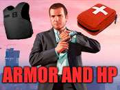 Health and armor cheat for GTA 5 on XBOX ONE