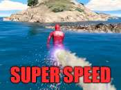 Super speed cheat for GTA 5 on PC.