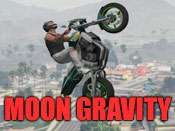 Moon-gravity cheat for GTA 5 on PC