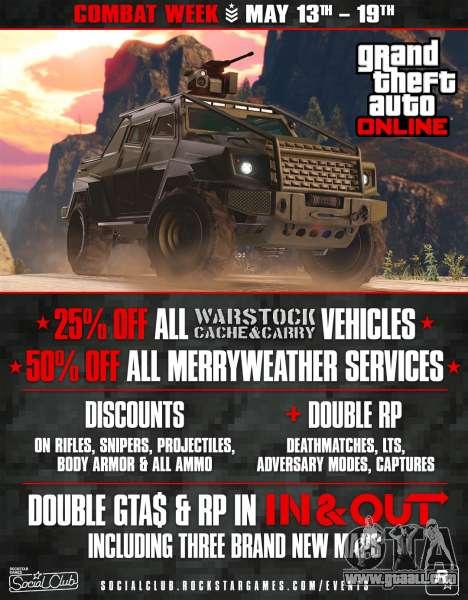 Meet the Combat week in GTA Online