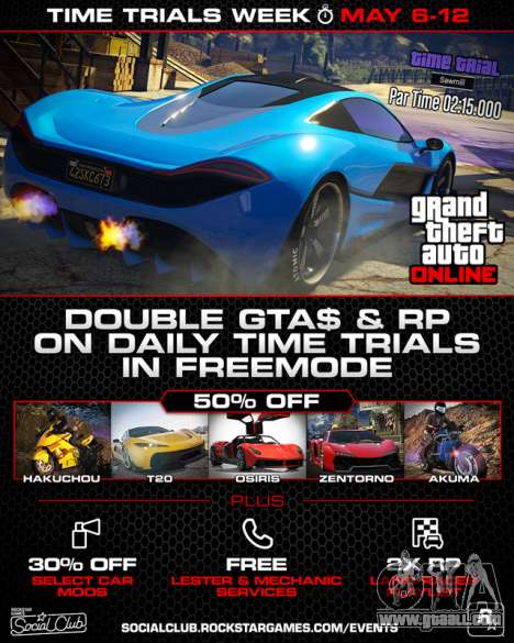 New event week in GTA Online