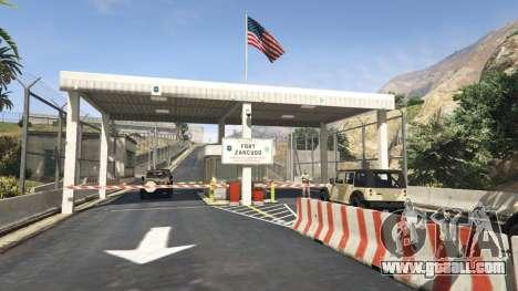 Fort Zancudo in GTA 5