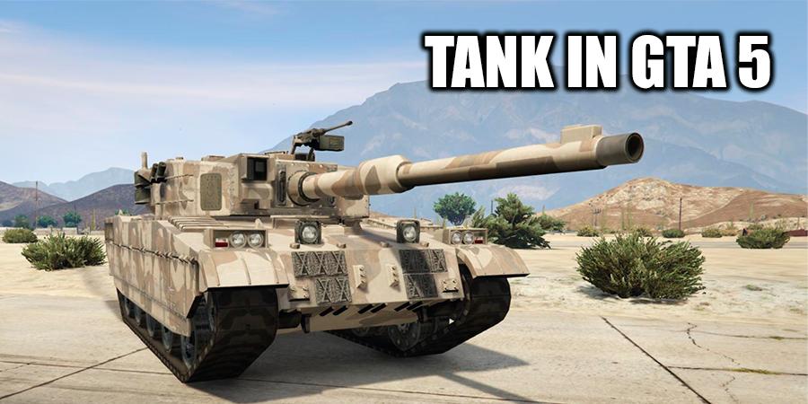 Tank in GTA 5