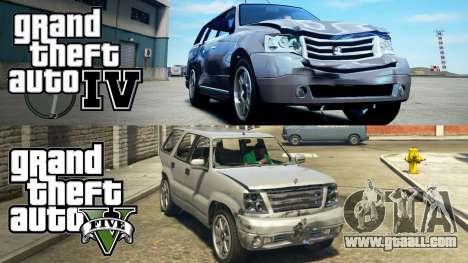 GTA 5 and GTA 4 сomparison