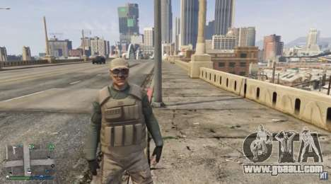 Bodyguard suit for the GTA Online