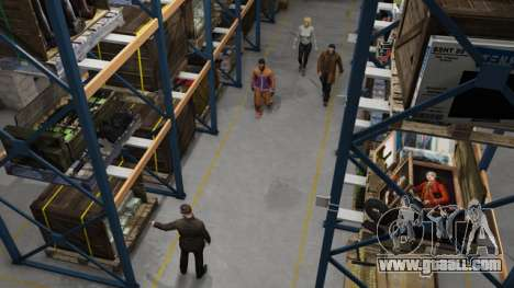 Organization's Warehouse in GTA Online