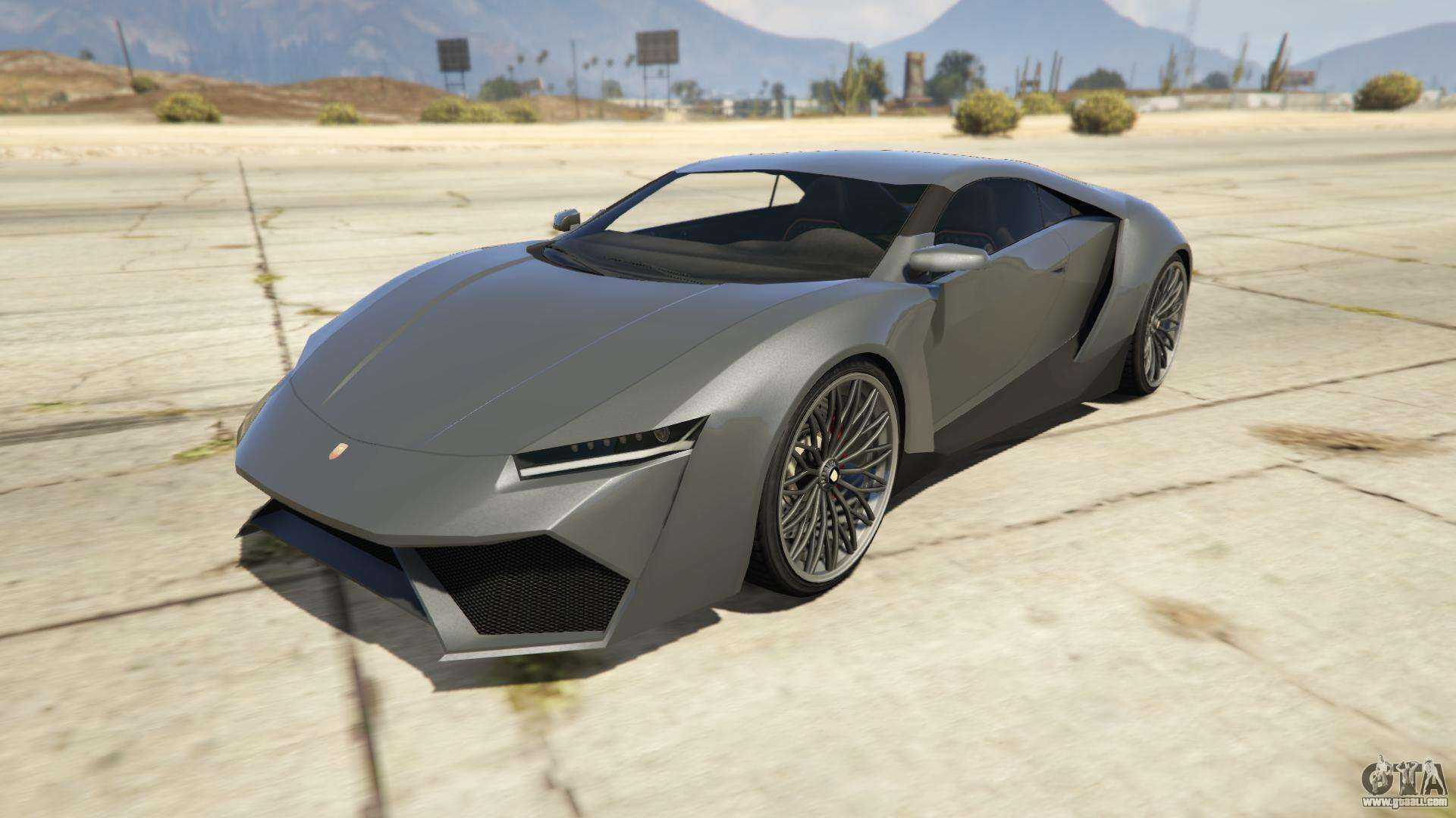 Pegassi Reaper from GTA 5 - front view