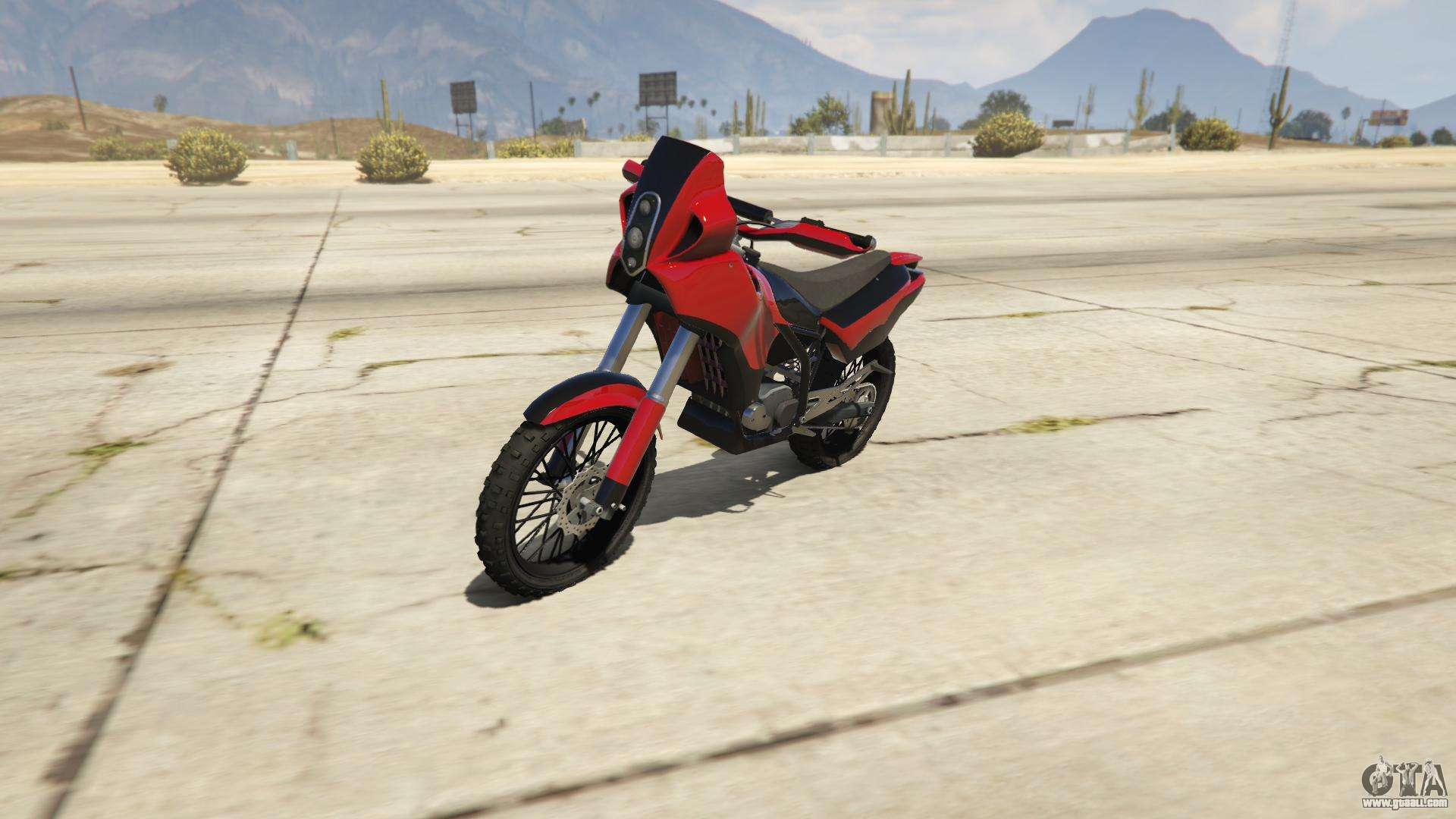 Nagasaki BF400 from GTA Online - front view