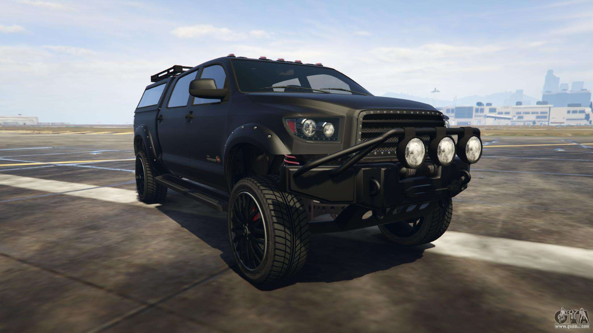 Vapid Contender from GTA online - front view