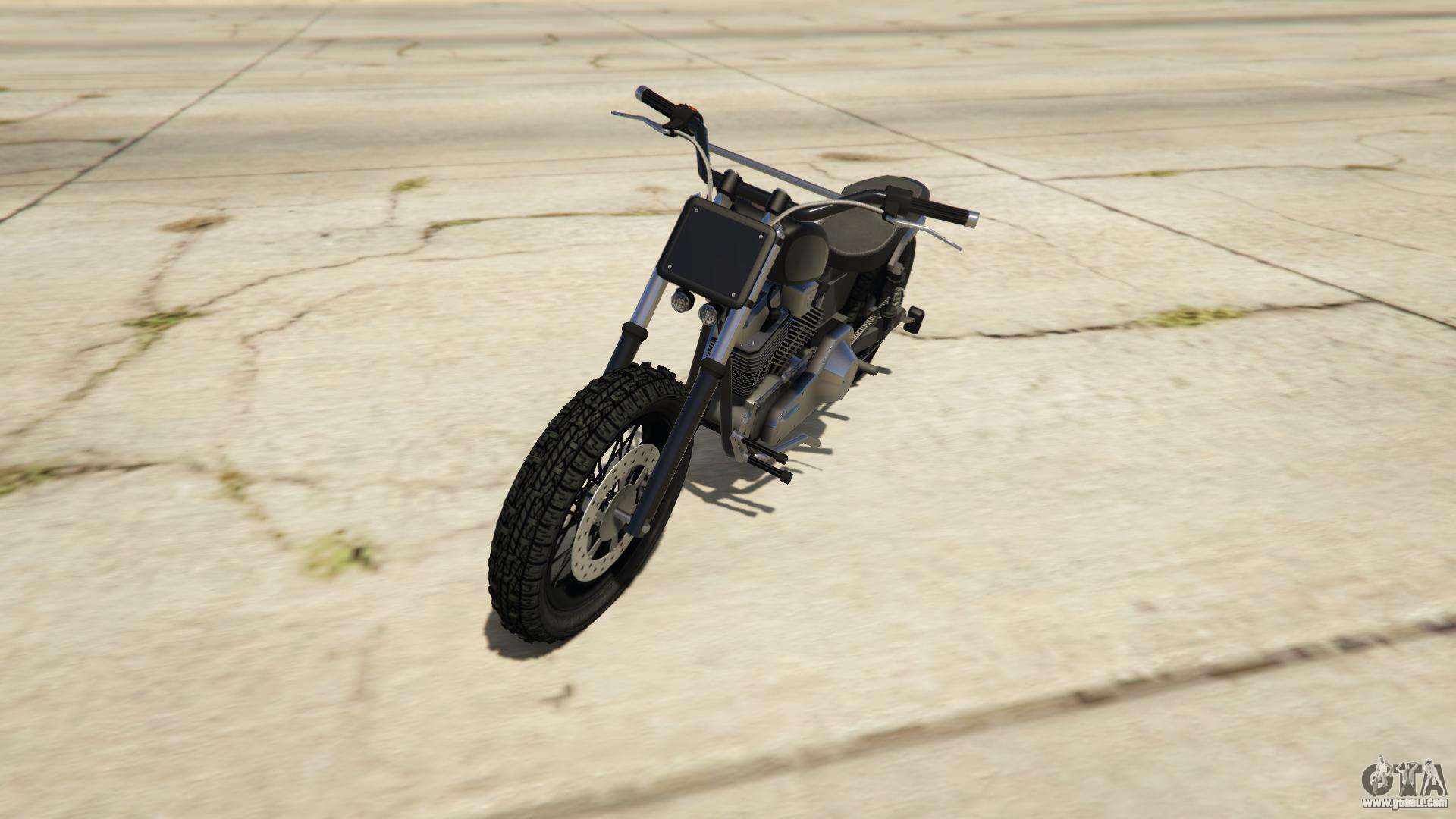 Western Motorcycle Company Cliffhanger from GTA Online - front view