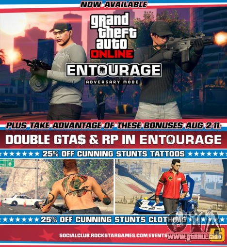 Entourage Adversary Mode and new weekly event
