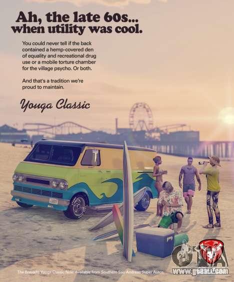 New vehicle Bravado Youga Classic for GTA Online