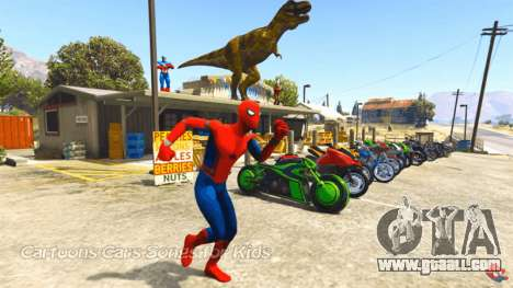 Spider man in GTA 5