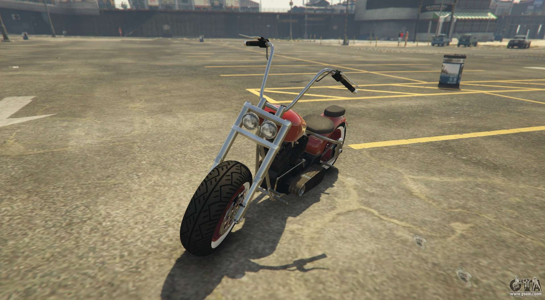 New chopper in GTA Online Western Motorcycle Company Zombie Chopper