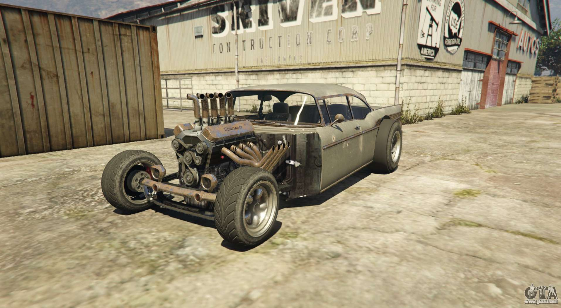 Tornado Rat Rod - Rusty version of Declasse Tornado