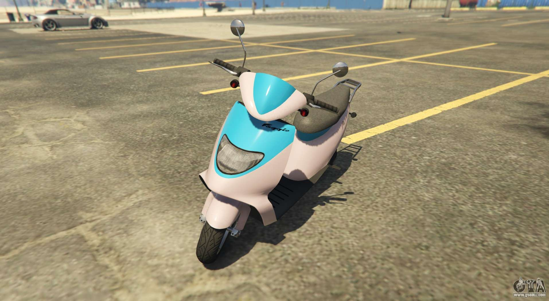 Sports scooter Peggasi Faggio Sport