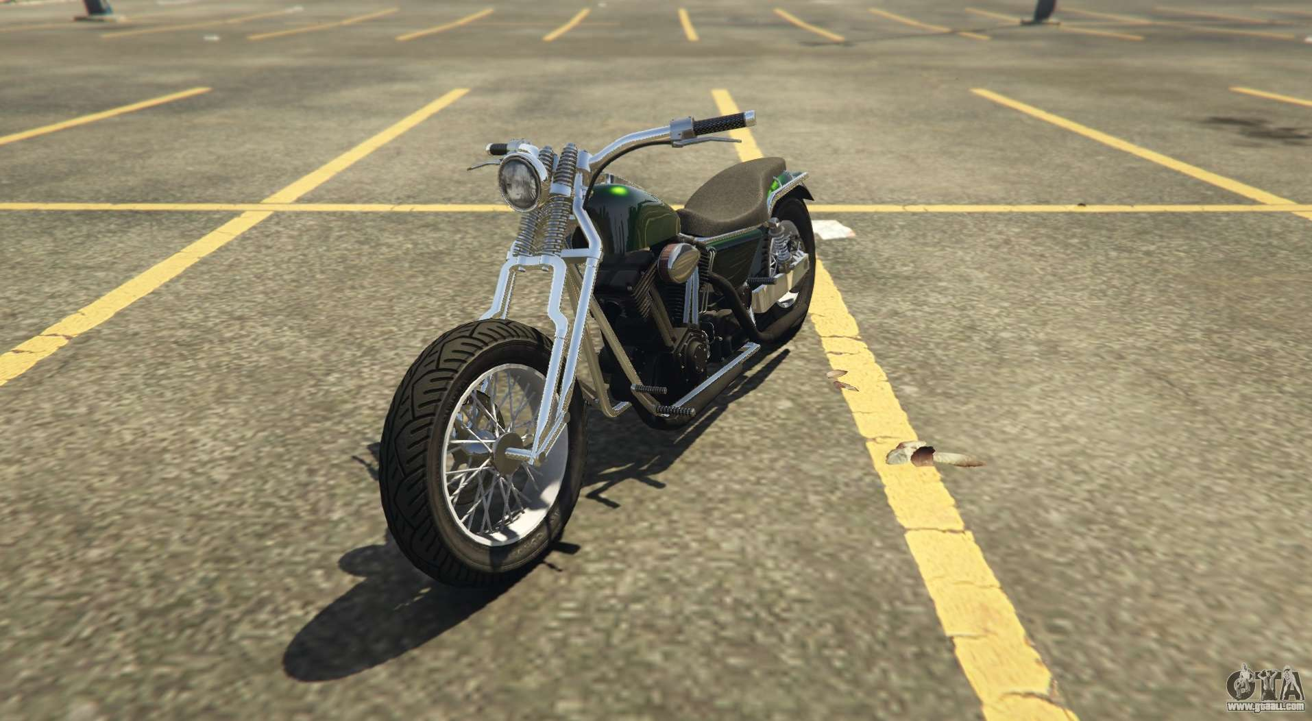 Another classic chopper Western Wolfsbane in GTA Online