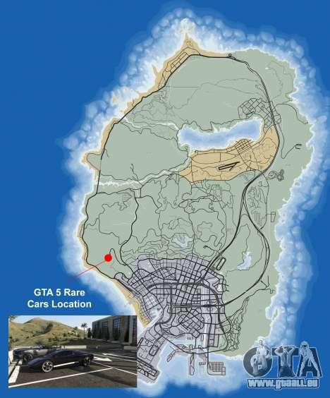 Où trouver des pièces rares de la machine dans GTA 5