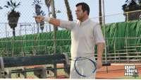 GTA 5: tennis