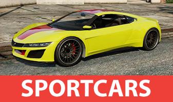 Voiture de sport dans GTA 5