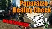 GTA 5 Solo Jugador Tutorial - Paparazzo: Verificación de la Realidad