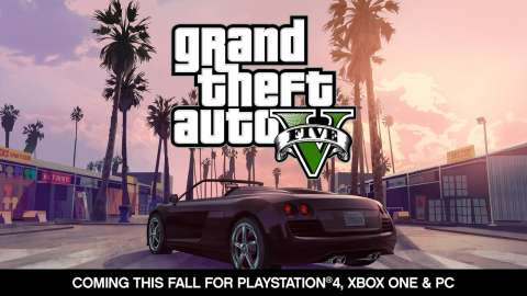 The announcement GTA V on PC, PS4 and XboxOne
