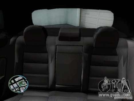 Volkswagen Golf V R32 Black edition for GTA San Andreas upper view