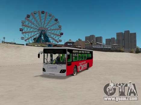Daewoo BC211MA Baku for GTA 4 back view