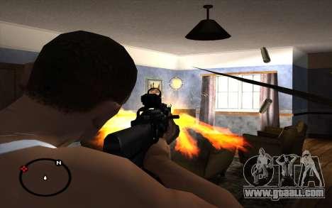 AK-103 for GTA San Andreas forth screenshot