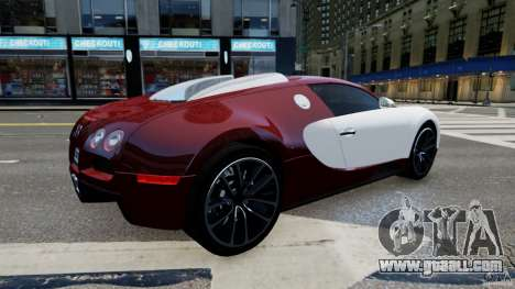 Bugatti Veyron 16.4 v1.0 wheel 1 for GTA 4 left view