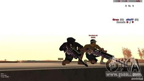New Chrome Guns v1.0 for GTA San Andreas fifth screenshot
