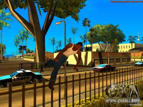 New Animations V1.0 for GTA San Andreas fifth screenshot