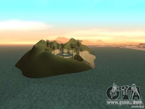 Volcano for GTA San Andreas fifth screenshot
