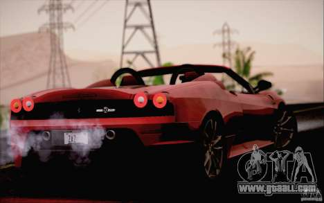 Ferrari F430 Scuderia Spider 16M for GTA San Andreas