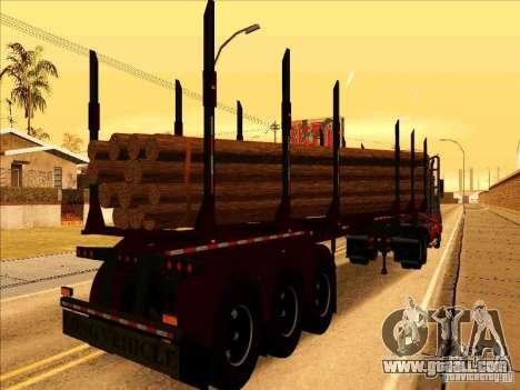 Trailer, Western Star 4900 for GTA San Andreas