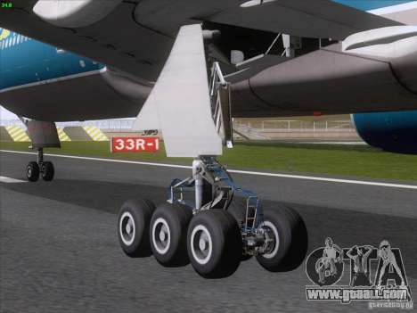 Boeing 777-2Q8ER Vietnam Airlines for GTA San Andreas right view