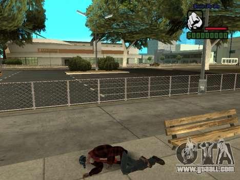 Skin the bum jacket for GTA San Andreas