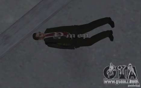 Animating the body of GTA IV for GTA San Andreas