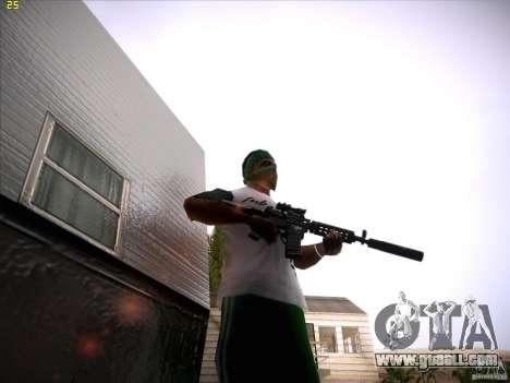 M4 Close Quarters Combat for GTA San Andreas