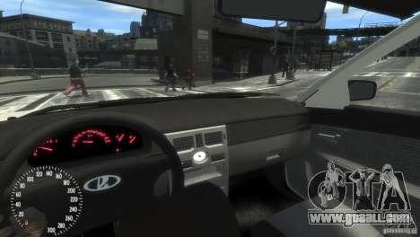 VAZ-2172 Pitbull for GTA 4 back view