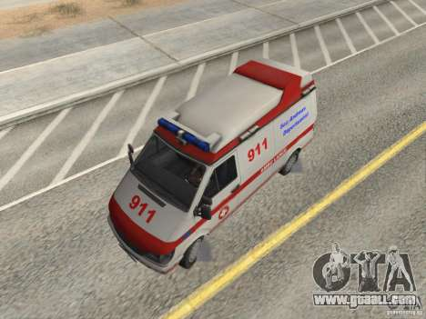 Ford Transit Ambulance for GTA San Andreas right view