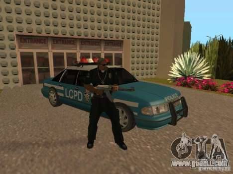 HD Police from GTA 3 for GTA San Andreas bottom view