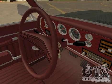1970 Chevrolet Monte Carlo for GTA San Andreas upper view